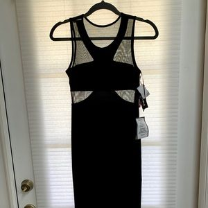 R&M Richards Black Dress size 5/6